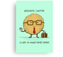 Business Cookie Canvas Print