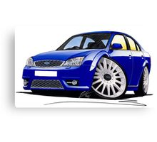 Ford Mondeo ST 220 Blue Canvas Print