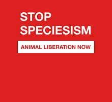 Stop Speciesism Unisex T-Shirt
