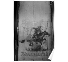 Winchester dispatch rider, Picton, NSW Poster