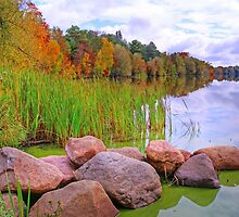 Rib Lake,Wisconsin U.S.A. by JohnDSmith