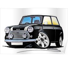 Rover Mini Cooper Black Poster