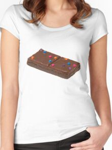 now that's a brownie  Women's Fitted Scoop T-Shirt