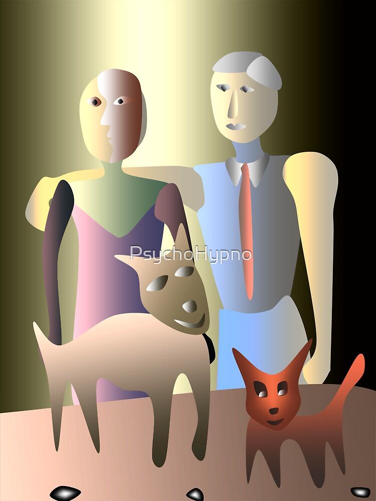 Magic family portrait by PsychoHypno