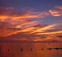 Spectacular Sunrise-Seabrook, Texas by Paul Wolf