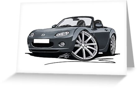 Mazda MX5 (Mk3) Grey by Richard Yeomans