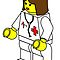 Female Doctor Minifig by Customize My Minifig by ChilleeW