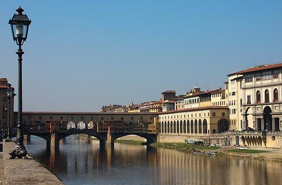Ponte Vecchio in Florence by kirilart