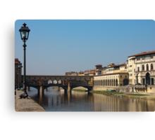 Ponte Vecchio in Florence Canvas Print