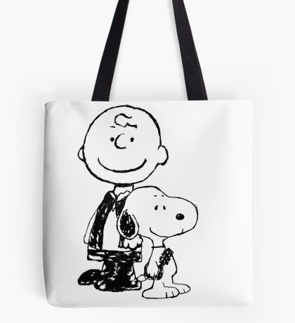 Peanuts meets Star Wars Tote Bag