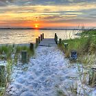 Sunrise & Sunsets of Delmarva by Monte Morton