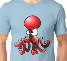 Red Octopus Unisex T-Shirt