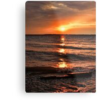 Friday The 13th Sunset Metal Print