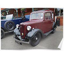 Austin Seven Car Poster