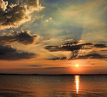 Another Beautiful Sunset by Carolyn  Fletcher