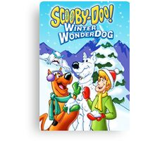 CHRISTMAS SCOOBY Canvas Print