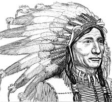Chief's War Bonnet by Woodie