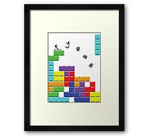 First Tetris, then the World Framed Print