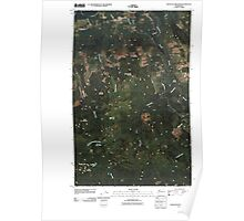 USGS Topo Map Washington State WA Haystack Mountain 20110418 TM Poster