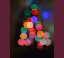 Little Bokeh Christmas Tree Unisex T-Shirt
