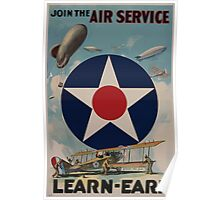 Join the Air Service Learn Earn 002 Poster