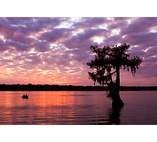 Lake Martin Sunset Photographic Print