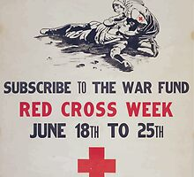 Your money or his life Subscribe to the war fund Red Cross week June 18th to 25th by wetdryvac