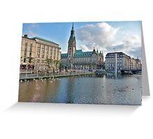 H,amburg - Germany Greeting Card