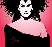 Cher - Goddess - Pop Art by wcsmack