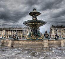 Place de la Concorde, Paris by wwebbdesign