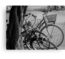 Bicycles-bicycles Metal Print