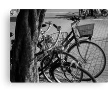 Bicycles-bicycles Canvas Print