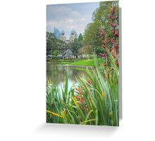 Victoria Park to the City Greeting Card