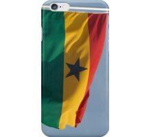 Ghanaian flag iPhone Case/Skin