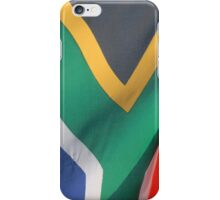 South African flag iPhone Case/Skin