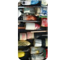 Lobster pot floats iPhone Case/Skin
