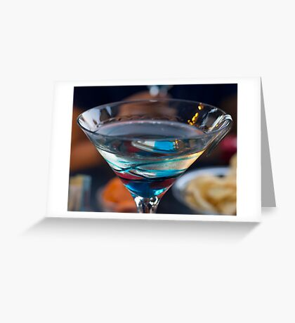 Colorfull drink Greeting Card