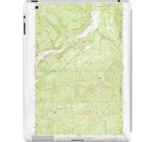 USGS Topo Map Washington State WA Aladdin 239772 1966 24000 iPad Case/Skin