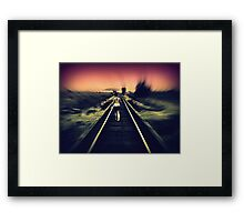 I'll Walk Away with You~ Framed Print