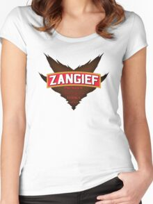 Zangief - Premium Red Cyclone Vodka Women's Fitted Scoop T-Shirt