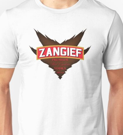 Zangief - Premium Red Cyclone Vodka Unisex T-Shirt