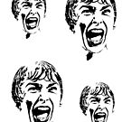 Psycho Scream Faces by ilmagatPSCS2