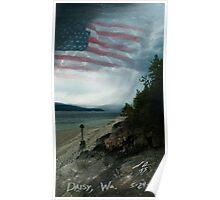 Daisy Flag Poster