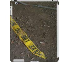 Police Line iPad Case/Skin