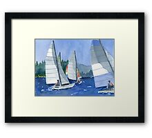 Afternoon Sail Framed Print