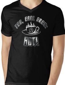 TEA, EARL GREY: HOT!! Mens V-Neck T-Shirt