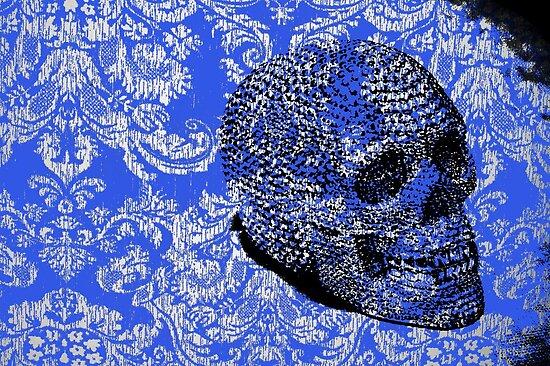 Lace Skull by PrinceRobbie
