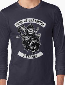SONS OF GRAYSKULL!! (BLACK) Long Sleeve T-Shirt