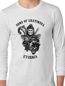 SONS OF GRAYSKULL!! (BLACK) Long Sleeve T-Shirt