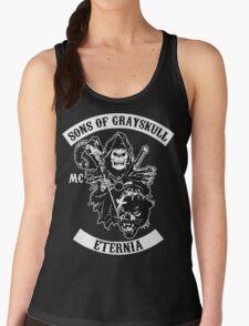 SONS OF GRAYSKULL!! (BLACK) Women's Tank Top
